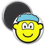 Shower cap buddy icon   fridge_magents_magnet