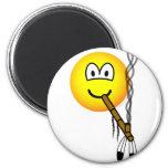 Peacepipe emoticon   fridge_magents_magnet