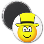 Yellow hat emoticon Six Thinking Hats - Speculative positive  fridge_magents_magnet