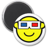 3D glasses buddy icon   fridge_magents_magnet