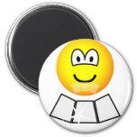 Face sun reflector emoticon   fridge_magents_magnet