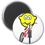 BMX buddy icon Olympic sport Cycling fridge_magents_magnet