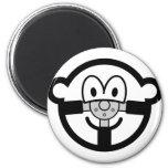 Steering wheel buddy icon   fridge_magents_magnet