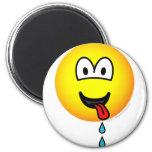 Drooling emoticon   fridge_magents_magnet