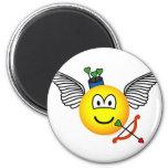 Cupid emoticon   fridge_magents_magnet
