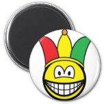 Joker/Carnival smile   fridge_magents_magnet