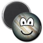 Jupiter emoticon   fridge_magents_magnet