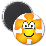 Jigsaw piece emoticon   fridge_magents_magnet