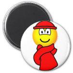 Cold weather emoticon   fridge_magents_magnet
