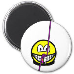 Abseiling smile   fridge_magents_magnet