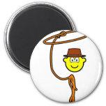 Cowboy lasso buddy icon   fridge_magents_magnet