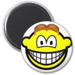 Wig smile   fridge_magents_magnet