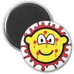 Bloody mesh buddy icon   fridge_magents_magnet