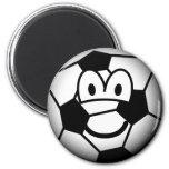 Soccer ball emoticon   fridge_magents_magnet