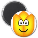 Tulip emoticon   fridge_magents_magnet