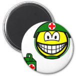 M*A*S*H smile medic  fridge_magents_magnet