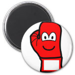 Boxingglove emoticon   fridge_magents_magnet