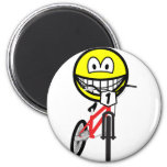 BMX smile Olympic sport Cycling fridge_magents_magnet
