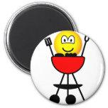 BBQ emoticon   fridge_magents_magnet