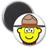 Canadian mountie buddy icon   fridge_magents_magnet