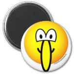 Big nosed emoticon   fridge_magents_magnet