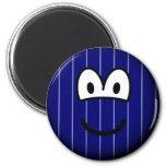 Pinstripe emoticon   fridge_magents_magnet