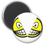 Split smile   fridge_magents_magnet