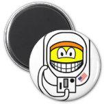 Astronaut smile   fridge_magents_magnet