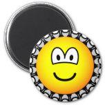 Bottle cap emoticon   fridge_magents_magnet