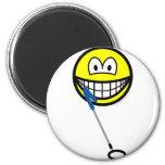 Metaldetector smile   fridge_magents_magnet