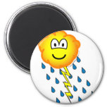 Thunder cloud emoticon   fridge_magents_magnet