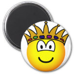 King emoticon   fridge_magents_magnet