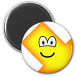 Down right emoticon arrow  fridge_magents_magnet