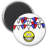 Bunting smile   fridge_magents_magnet