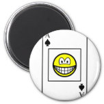 Ace of spades smile   fridge_magents_magnet