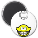 Volleyball playing smile   fridge_magents_magnet