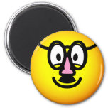 Disguised emoticon   fridge_magents_magnet