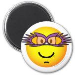 Elton John emoticon   fridge_magents_magnet