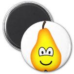 Pear emoticon   fridge_magents_magnet