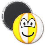 Beachball emoticon   fridge_magents_magnet