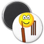 Cricket emoticon   fridge_magents_magnet