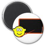 Teacher buddy icon Black board  fridge_magents_magnet