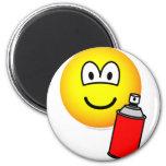 Spray painter emoticon   fridge_magents_magnet