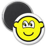 Starry eyed buddy icon   fridge_magents_magnet