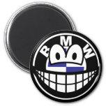 BMW smile   fridge_magents_magnet