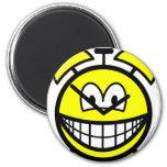 Alarm clock smile   fridge_magents_magnet