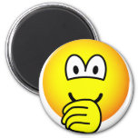 Thumb sucking emoticon   fridge_magents_magnet