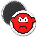 Sad red buddy icon   fridge_magents_magnet