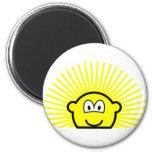 Sunrise buddy icon   fridge_magents_magnet