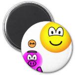 Saving emoticon   fridge_magents_magnet
